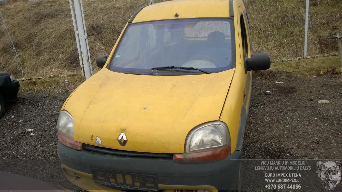 Naudotos automobiliu dallys Foto 2 Renault KANGOO 1998 1.2 Mechaninė Komercinis 2/3 d. Geltona 2016-4-12 A2713