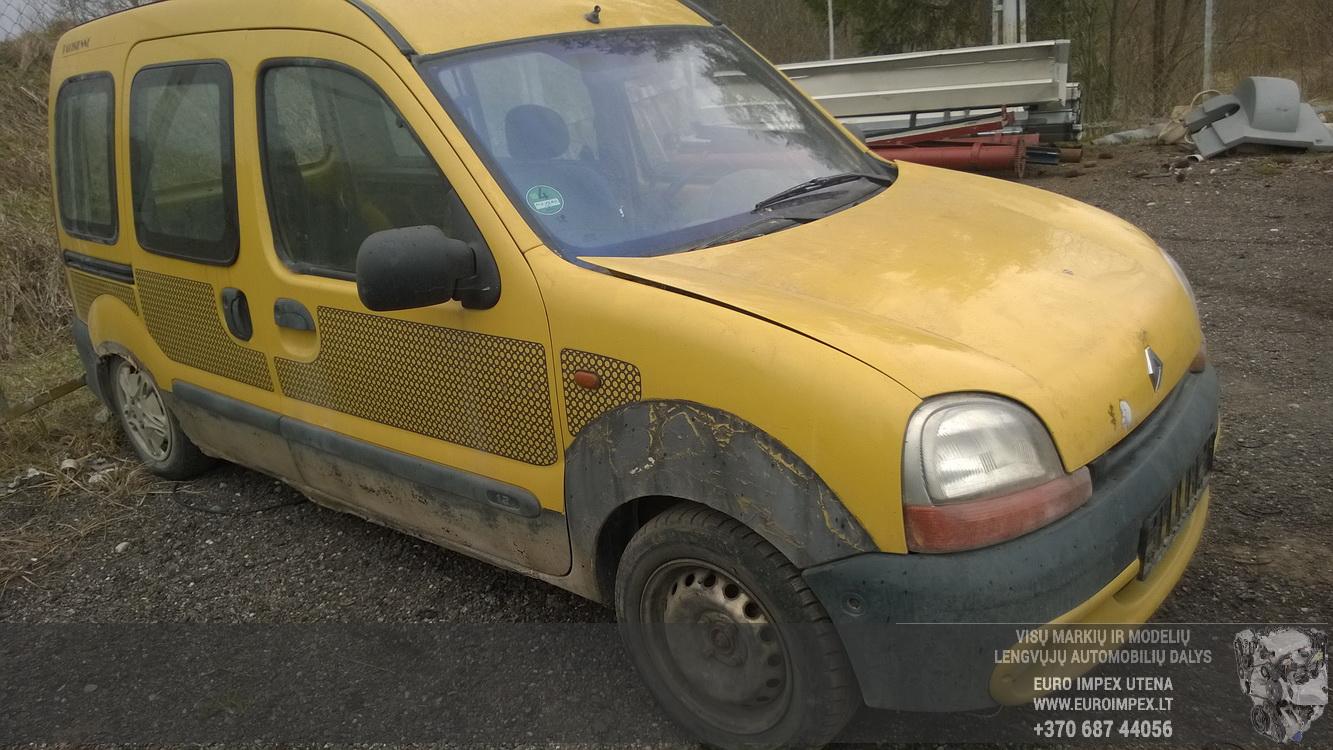 Naudotos automobiliu dallys Foto 3 Renault KANGOO 1998 1.2 Mechaninė Komercinis 2/3 d. Geltona 2016-4-12 A2713