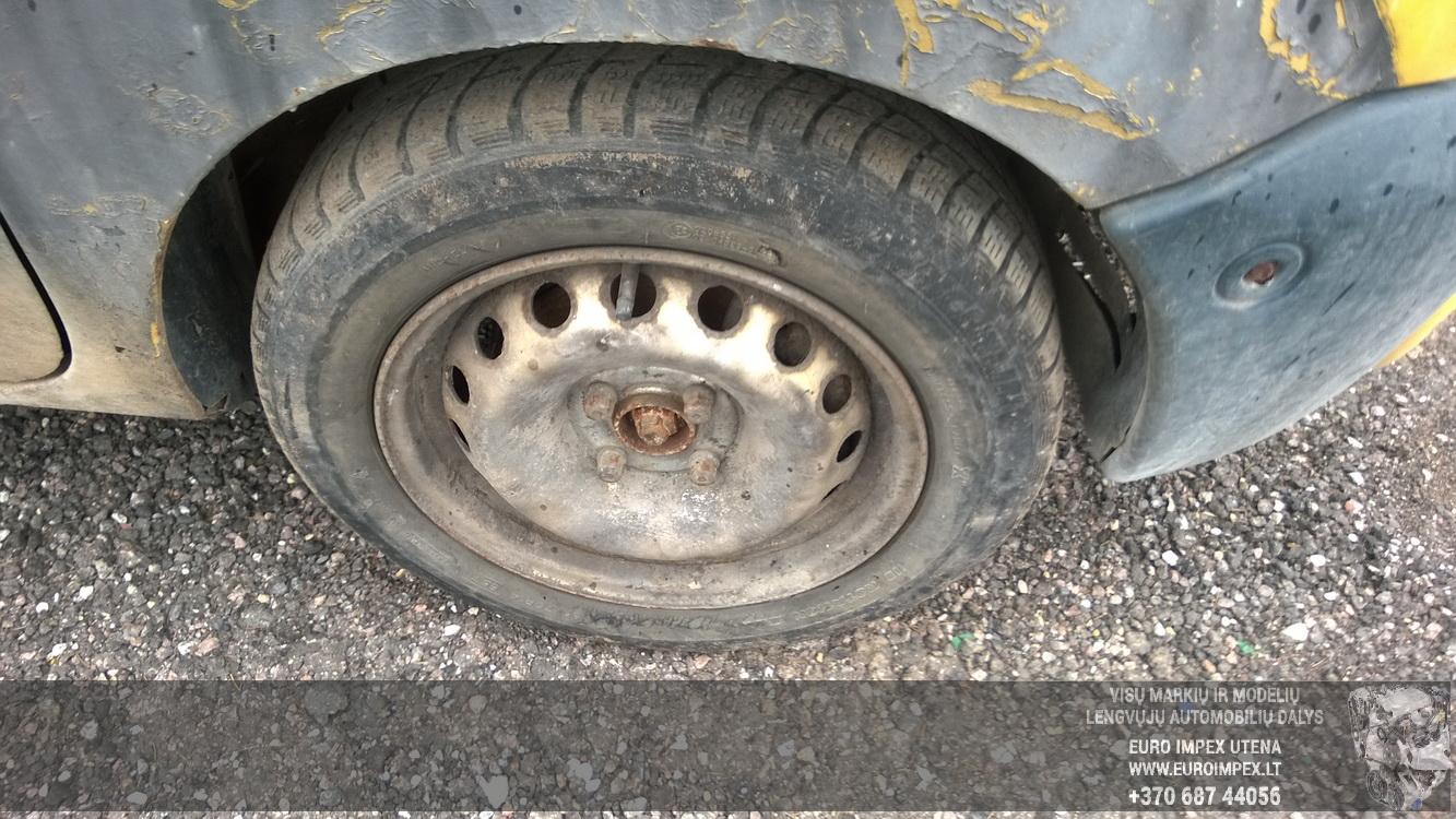 Naudotos automobiliu dallys Foto 4 Renault KANGOO 1998 1.2 Mechaninė Komercinis 2/3 d. Geltona 2016-4-12 A2713