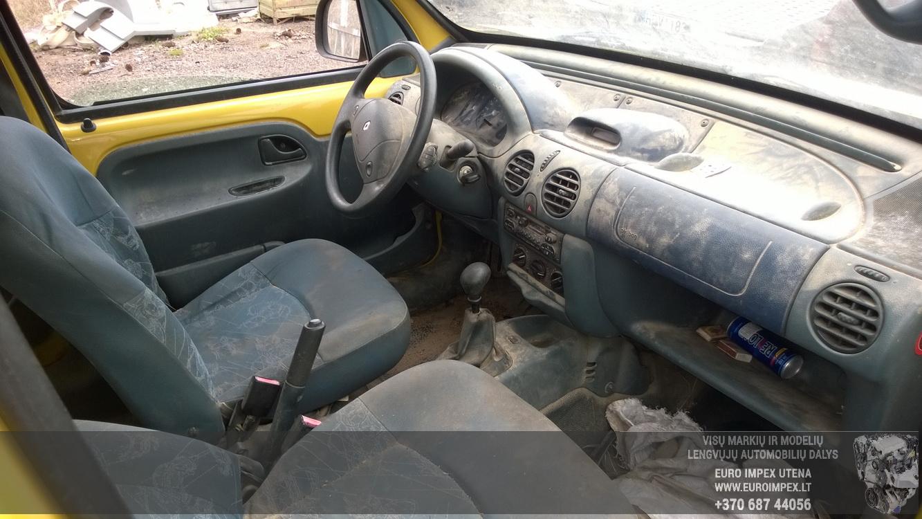 Naudotos automobiliu dallys Foto 5 Renault KANGOO 1998 1.2 Mechaninė Komercinis 2/3 d. Geltona 2016-4-12 A2713