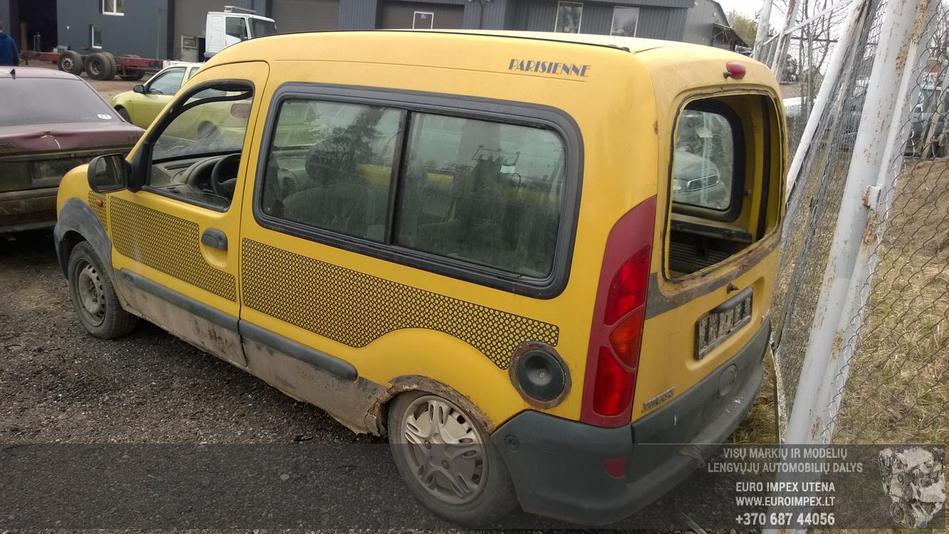 Naudotos automobiliu dallys Foto 7 Renault KANGOO 1998 1.2 Mechaninė Komercinis 2/3 d. Geltona 2016-4-12 A2713