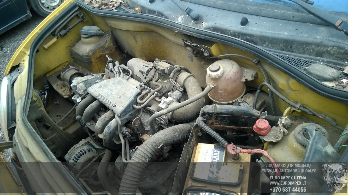 Naudotos automobiliu dallys Foto 8 Renault KANGOO 1998 1.2 Mechaninė Komercinis 2/3 d. Geltona 2016-4-12 A2713