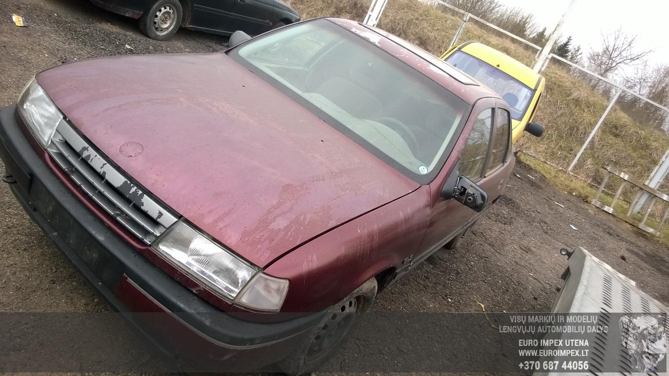 Naudotos automobiliu dallys Foto 3 Opel VECTRA 1989 1.6 Mechaninė Sedanas 4/5 d. Raudona 2016-4-12 A2714