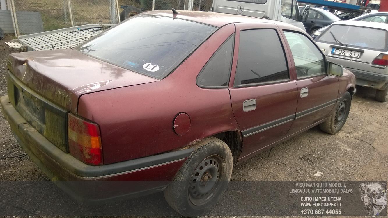 Naudotos automobiliu dallys Foto 7 Opel VECTRA 1989 1.6 Mechaninė Sedanas 4/5 d. Raudona 2016-4-12 A2714