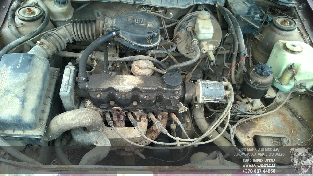 Naudotos automobiliu dallys Foto 8 Opel VECTRA 1989 1.6 Mechaninė Sedanas 4/5 d. Raudona 2016-4-12 A2714