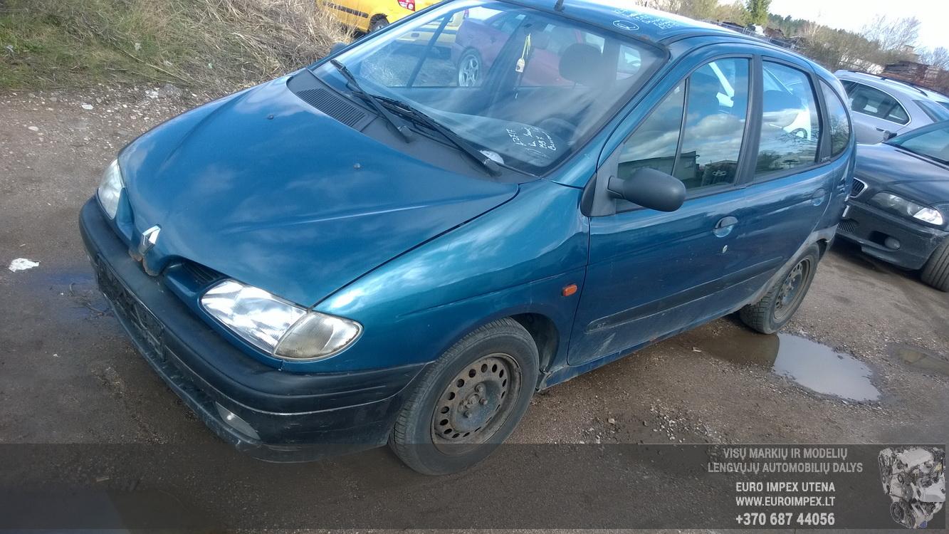 Renault SCENIC 1997 1.6 машиностроение