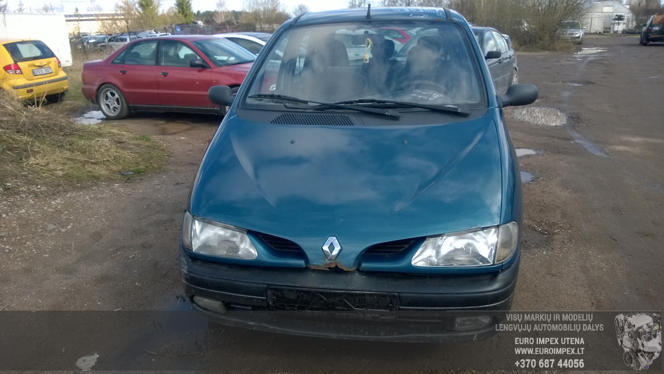 Used Car Parts Foto 2 Renault SCENIC 1997 1.6 Mechanical Minivan 4/5 d. Blue 2016-4-15 A2717