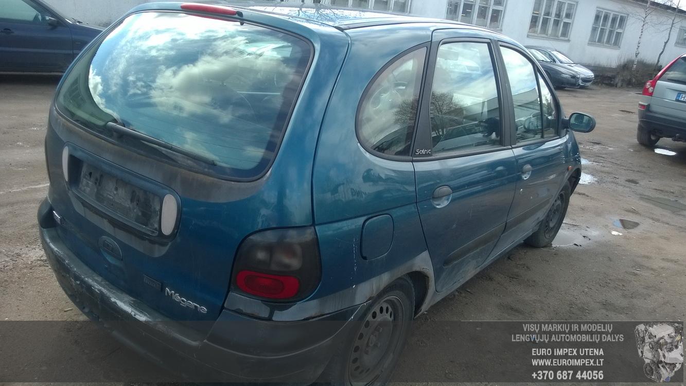 Used Car Parts Foto 6 Renault SCENIC 1997 1.6 Mechanical Minivan 4/5 d. Blue 2016-4-15 A2717