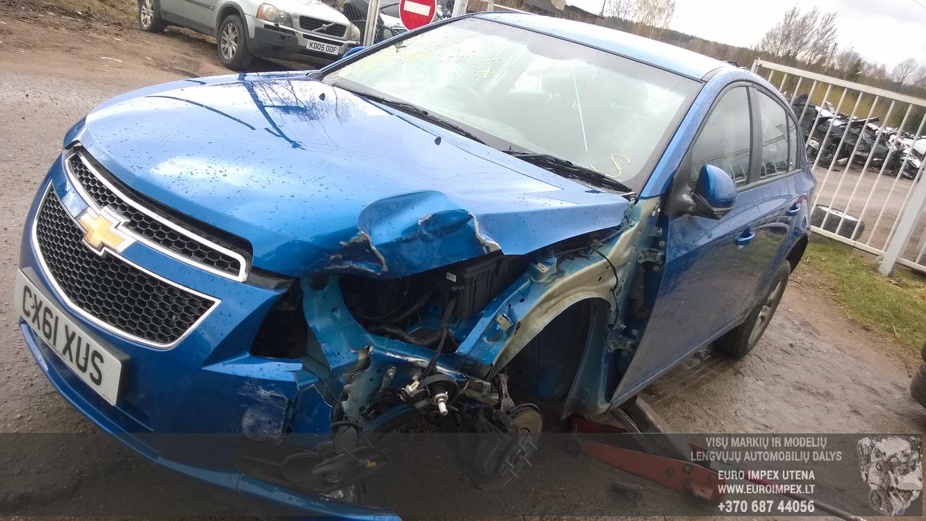 Naudotos automobiliu dallys Foto 3 Chevrolet CRUZE 2011 1.6 Mechaninė Hečbekas 4/5 d. Melyna 2016-4-25 A2733