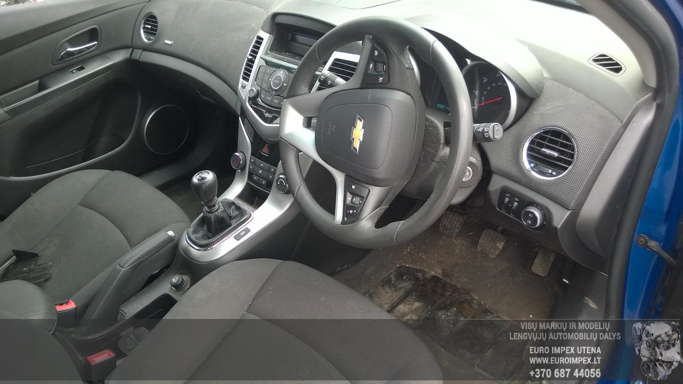 Naudotos automobiliu dallys Foto 7 Chevrolet CRUZE 2011 1.6 Mechaninė Hečbekas 4/5 d. Melyna 2016-4-25 A2733