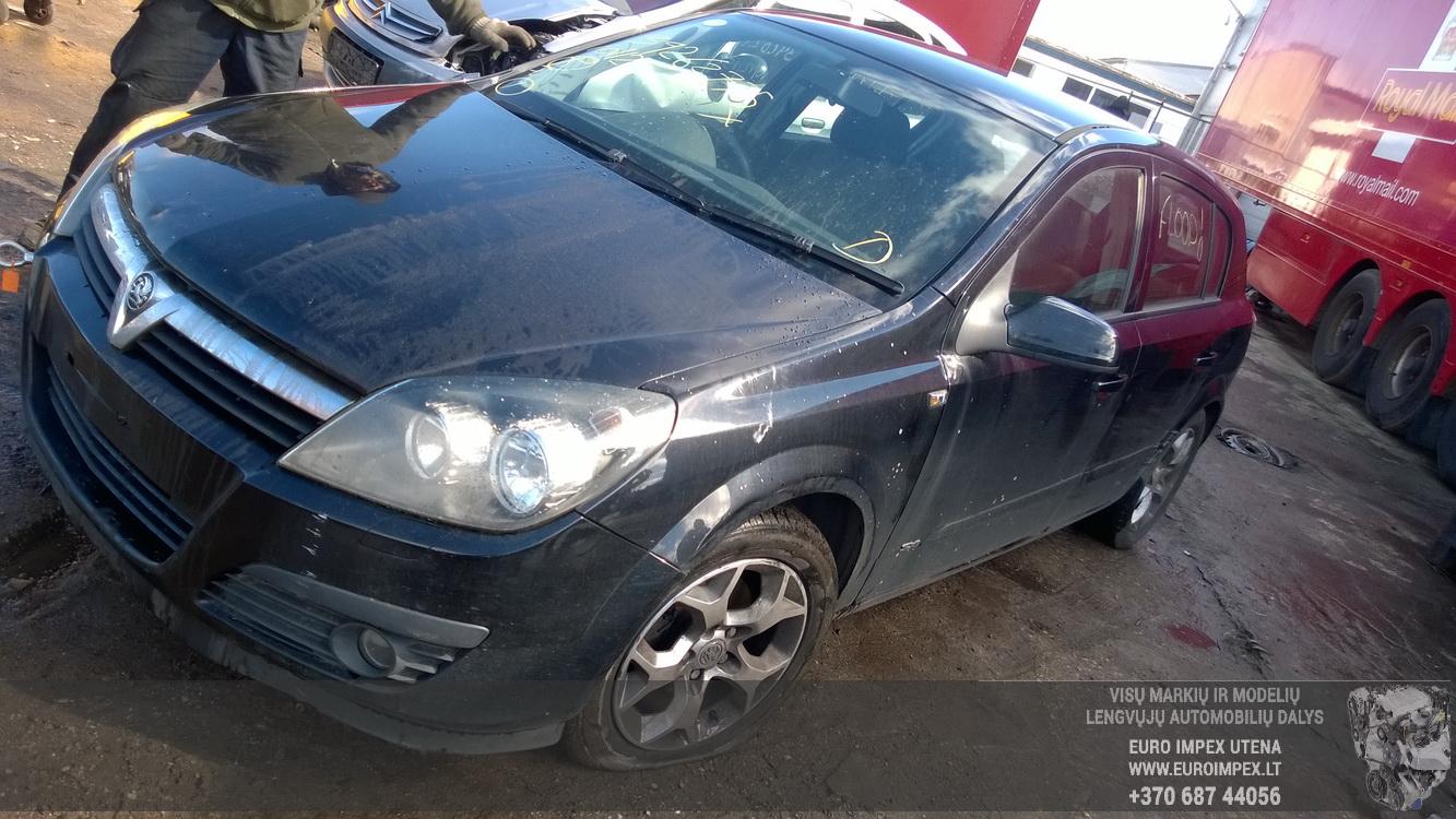 Naudotos automobilio dalys Opel ASTRA 2006 1.7 Mechaninė Hečbekas 4/5 d. Juoda 2016-4-20