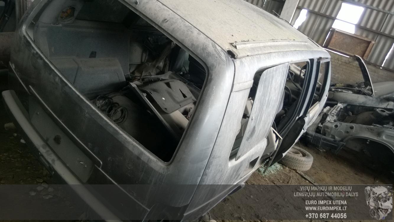 Naudotos automobilio dalys Renault ESPACE 1991 2.8 Mechaninė Vienatūris 4/5 d. Pilka 2016-4-25