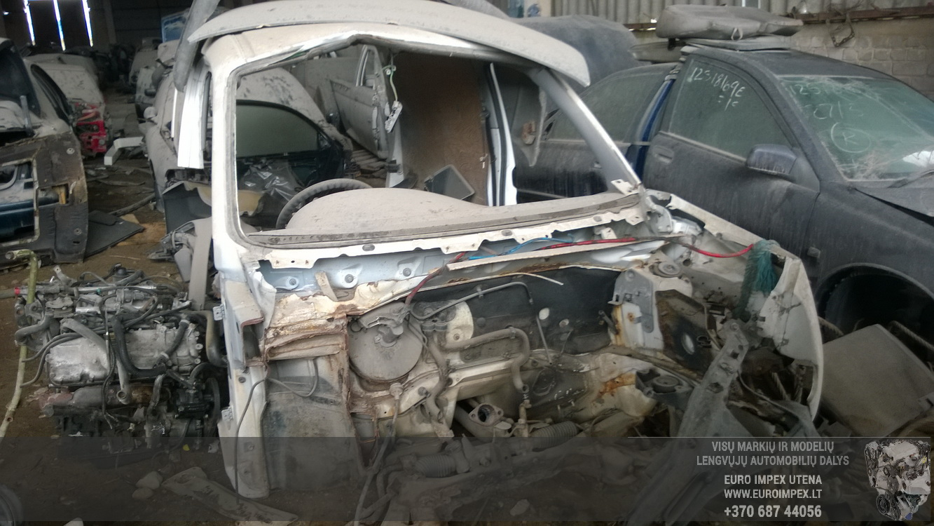 Naudotos automobiliu dallys Foto 2 Citroen BERLINGO 1997 1.8 Mechaninė Komercinis 2/3 d. Balta 2016-4-25 A2728