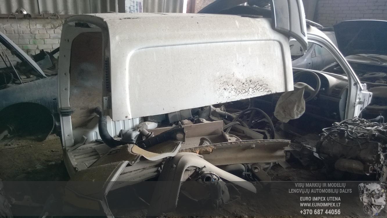 Naudotos automobilio dalys Citroen BERLINGO 1997 1.8 Mechaninė Komercinis 2/3 d. Balta 2016-4-25