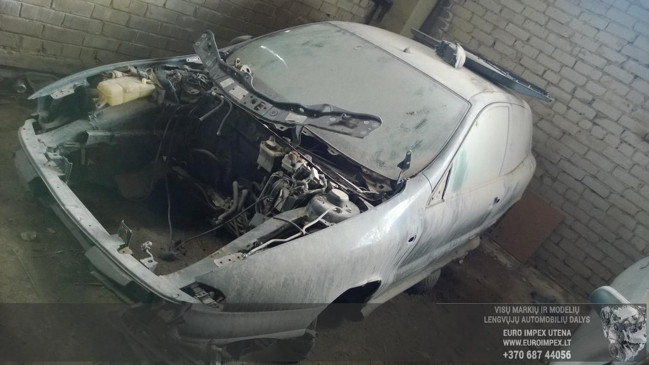 Naudotos automobilio dalys Fiat BRAVO 1996 1.6 Mechaninė Hečbekas 2/3 d. Juoda 2016-4-25