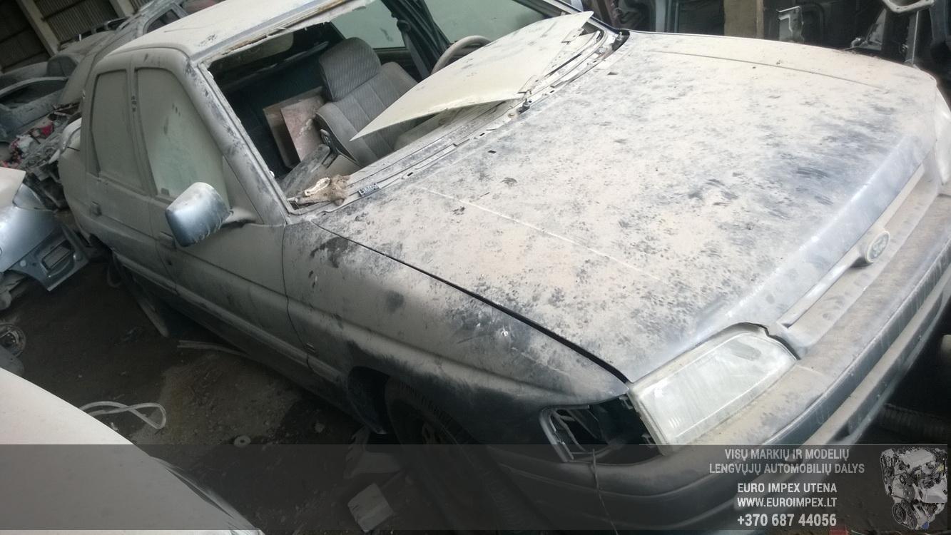 Naudotos automobilio dalys Ford ORION 1992 1.8 Mechaninė Sedanas 4/5 d. Melyna 2016-4-28