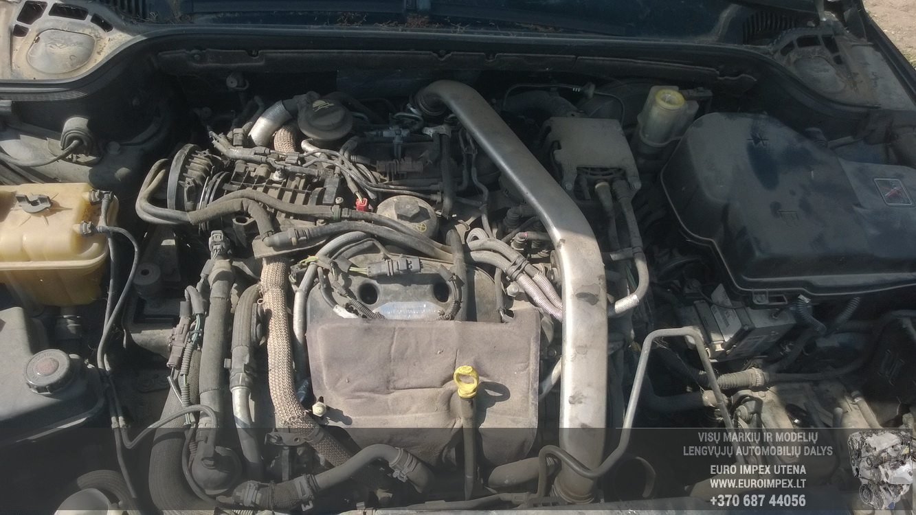 Naudotos automobiliu dallys Foto 8 Peugeot 407 2006 2.7 Automatinė Kupė 2/3 d. Zalia 2016-5-03 A2754