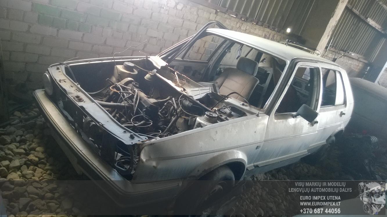Volkswagen GOLF 1989 1.8 Mechaninė