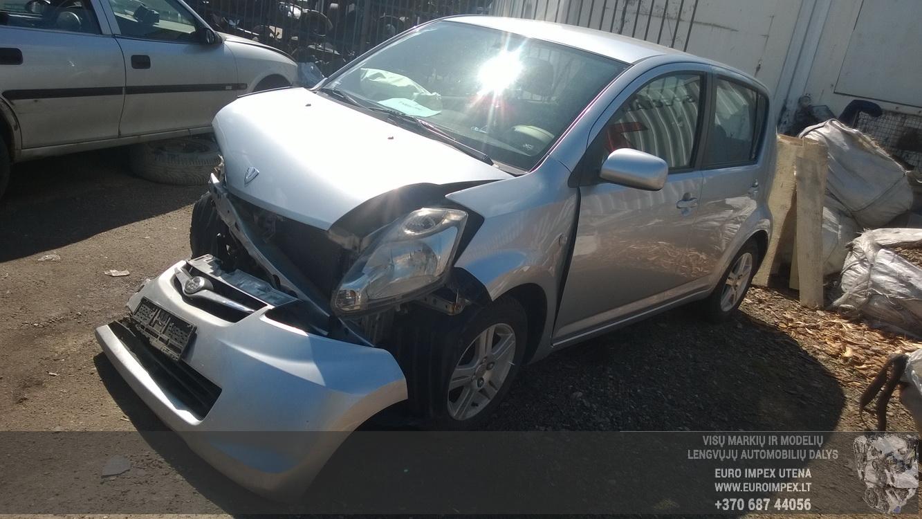 Naudotos automobilio dalys Subaru JUSTY 2010 1.0 Mechaninė Hečbekas 4/5 d. Pilka 2016-5-06