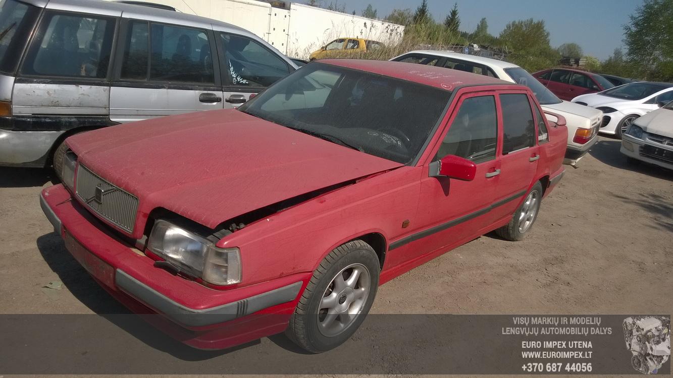 Naudotos automobilio dalys Volvo 850 1992 2.5 Mechaninė Sedanas 4/5 d. Raudona 2016-5-10