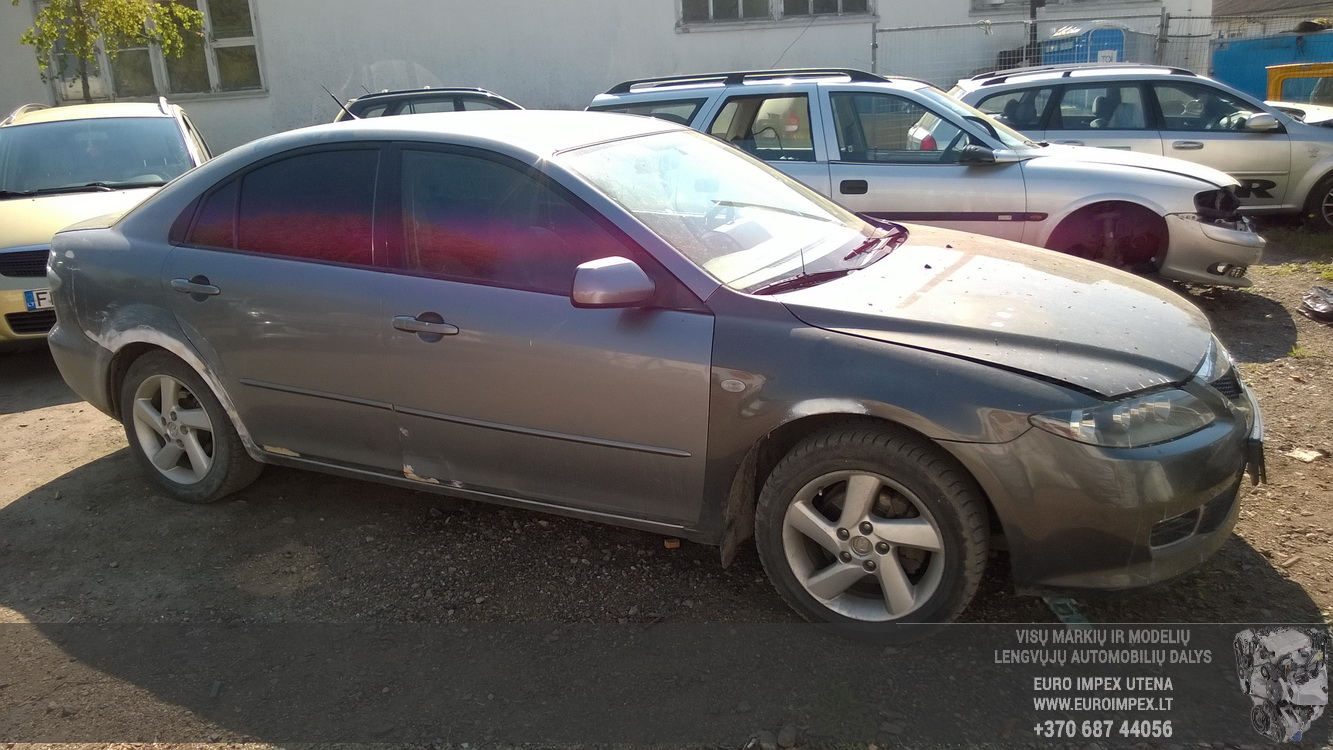 Naudotos automobiliu dallys Foto 3 Mazda 6 2003 2.0 Mechaninė Hečbekas 4/5 d. Pilka 2016-5-10 A2778