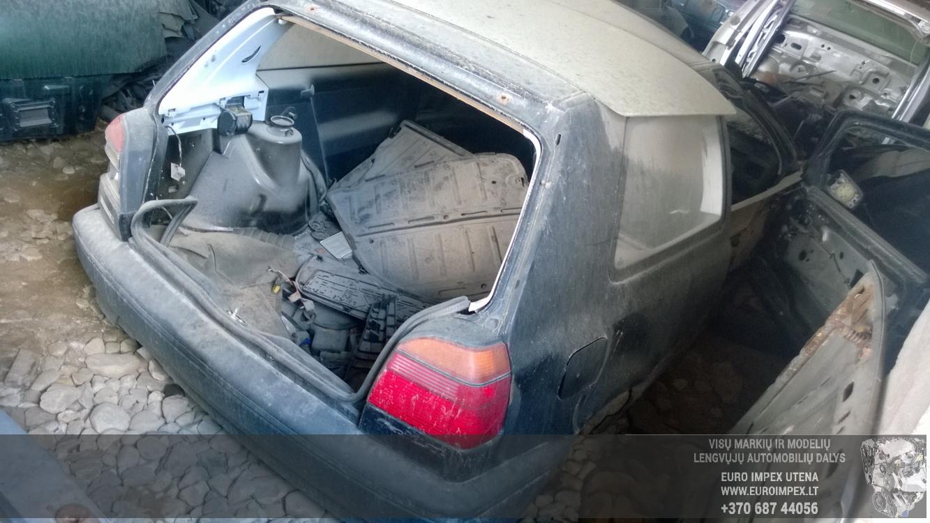 Naudotos automobiliu dallys Foto 6 Volkswagen GOLF 1993 1.6 Mechaninė Hečbekas 2/3 d. Melyna 2016-5-10 A2779