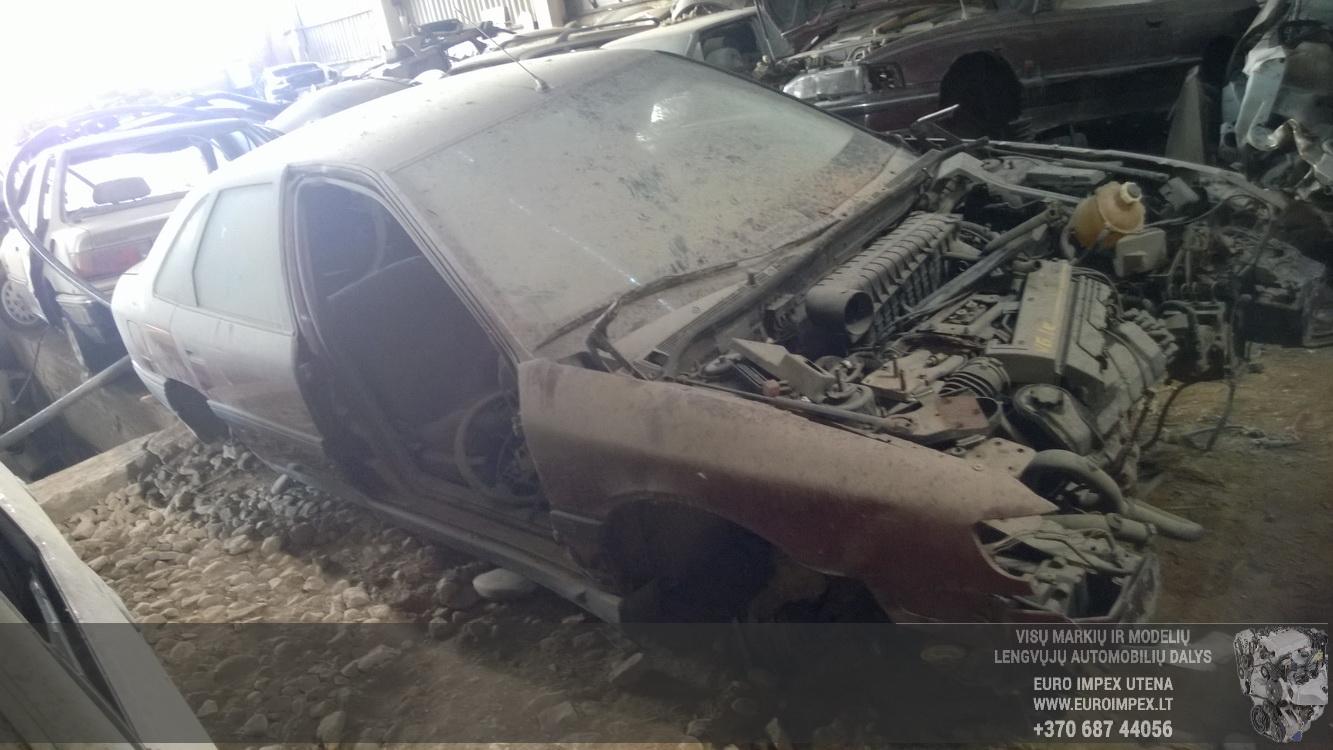 Naudotos automobilio dalys Renault SAFRANE 1993 3.0 Automatinė Hečbekas 4/5 d. Raudona 2016-5-10