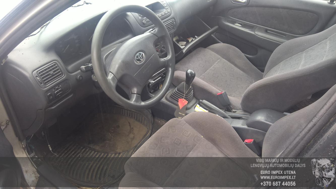 Naudotos automobilio dalys Toyota COROLLA 2000 2.0 Mechaninė Hečbekas 4/5 d. Pilka 2016-8-17