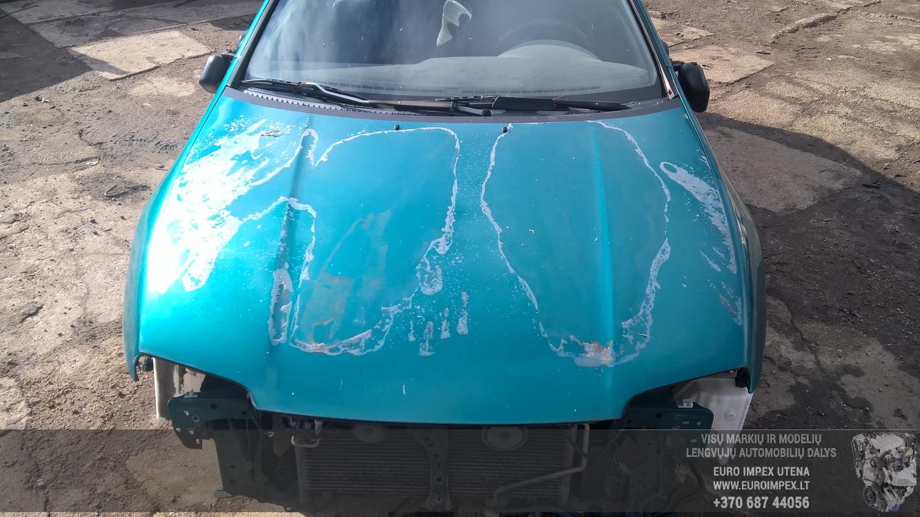 Naudotos automobilio dalys Mazda 323F 1997 1.5 Mechaninė Hečbekas 4/5 d. Zalia 2016-8-18