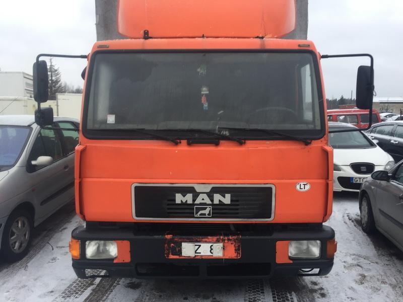 Naudotos automobilio dalys Truck - MAN 8.174 2000 4.6 Mechaninė Vilkikas 2/3 d. Oranzine 2018-12-14