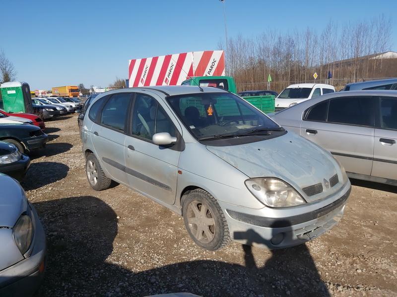 Подержанные Автозапчасти Renault SCENIC 1999 1.9 машиностроение минивэн 4/5 d. Sviesiai pilka 2020-3-23