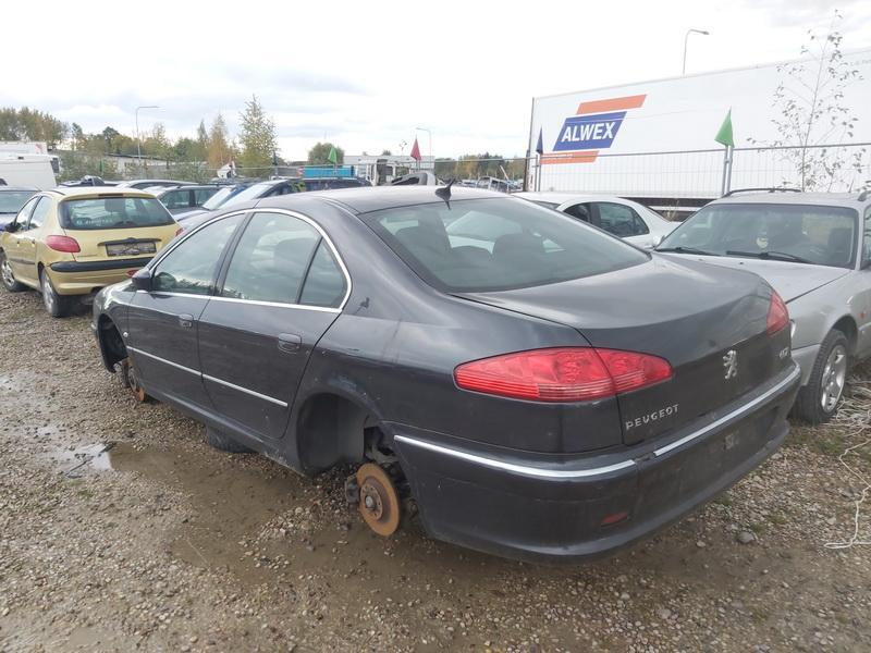 Naudotos automobiliu dallys Foto 8 Peugeot 607 2007 2.7 Automatinė Sedanas 4/5 d. Juoda 2020-10-15 A5760
