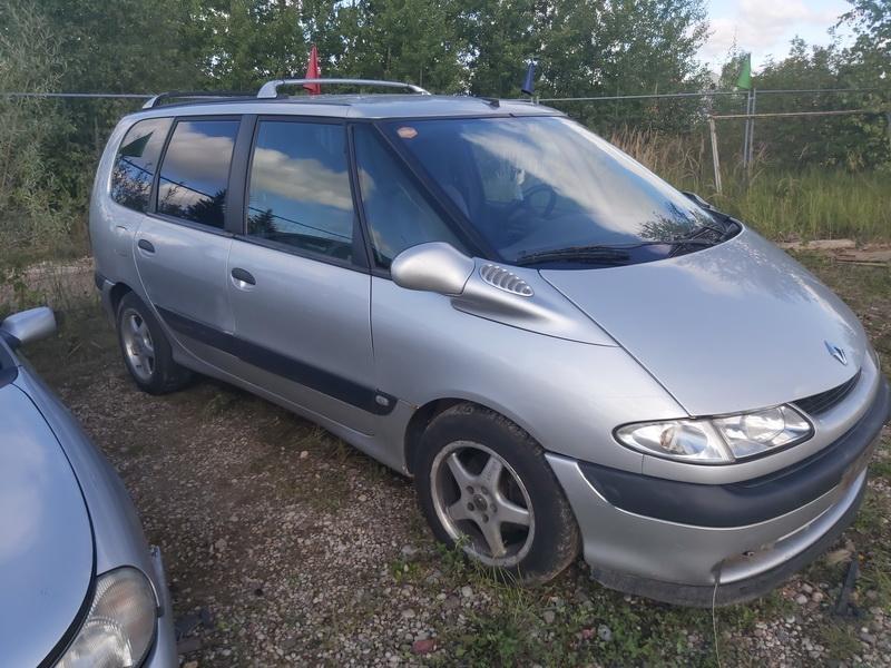Naudotos automobilio dalys Renault ESPACE 1998 2.0 Mechaninė Vienatūris 4/5 d. Pilka 2020-8-28
