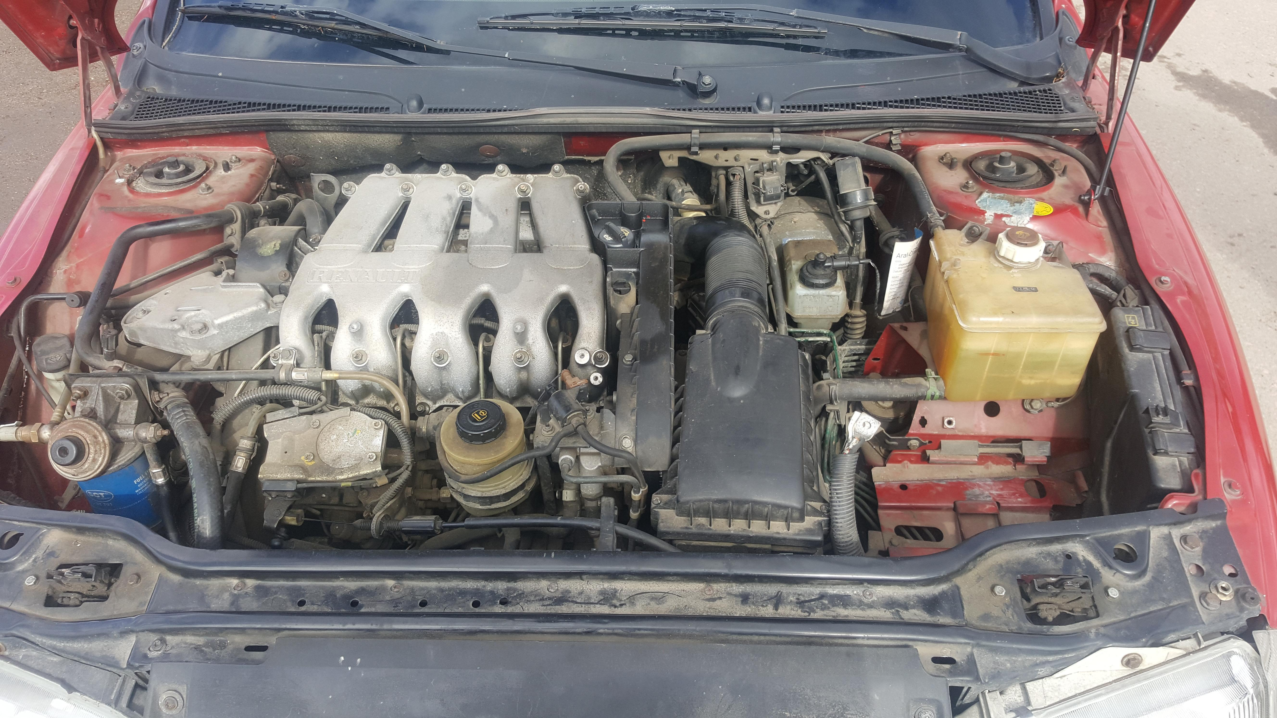 Naudotos automobilio dalys Renault LAGUNA 1995 2.2 Mechaninė Hečbekas 4/5 d. Raudona 2017-4-06