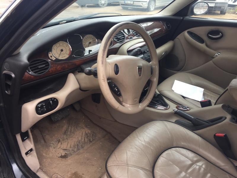 Naudotos automobiliu dallys Foto 5 Rover 75 1999 2.0 Automatinė Sedanas 4/5 d. Zalia 2018-10-03 A4105