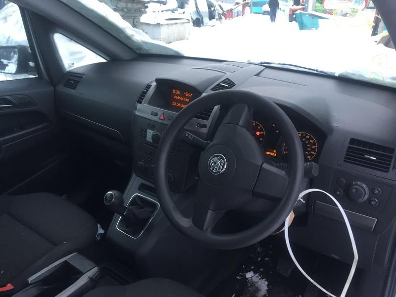 Naudotos automobilio dalys Opel ZAFIRA 2007 1.6 Mechaninė Vienatūris 4/5 d. Sidabrine 2019-1-28