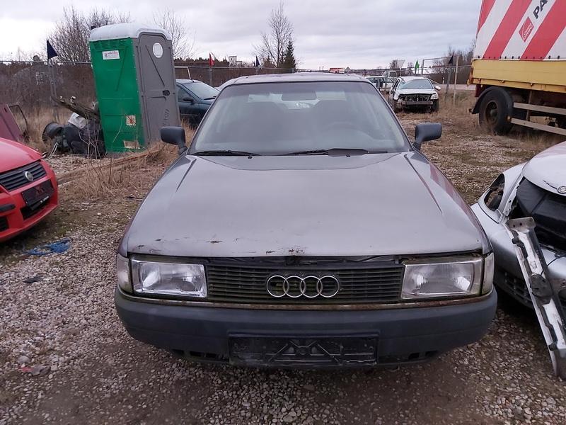 Naudotos automobilio dalys Audi 80 1991 1.8 Mechaninė Sedanas 4/5 d. Pilka 2020-1-20