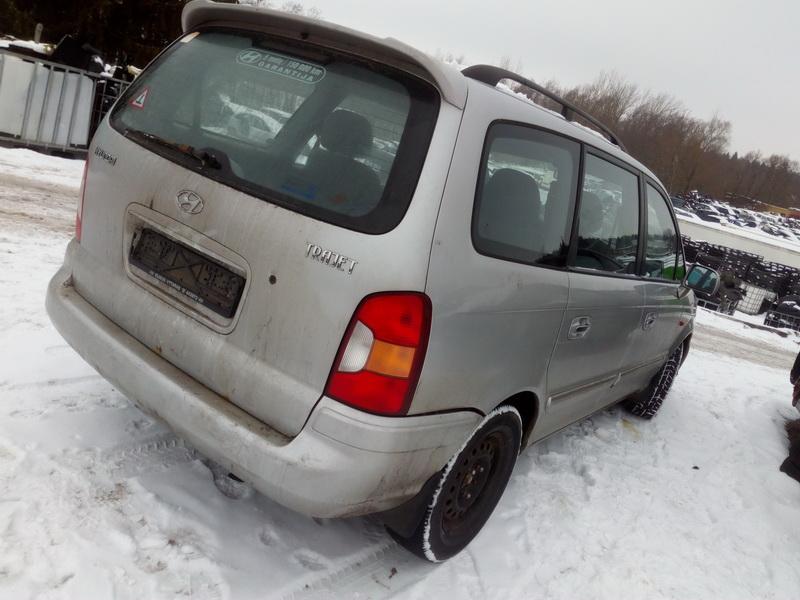 Подержанные Автозапчасти Foto 7 Hyundai TRAJET 2002 2.0 машиностроение минивэн 4/5 d. серебро 2018-2-13 A3629