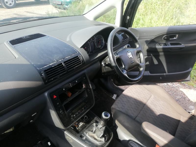 Naudotos automobiliu dallys Foto 7 Seat ALHAMBRA 2001 1.9 Mechaninė Vienatūris 4/5 d. Juoda 2019-9-05 A4732