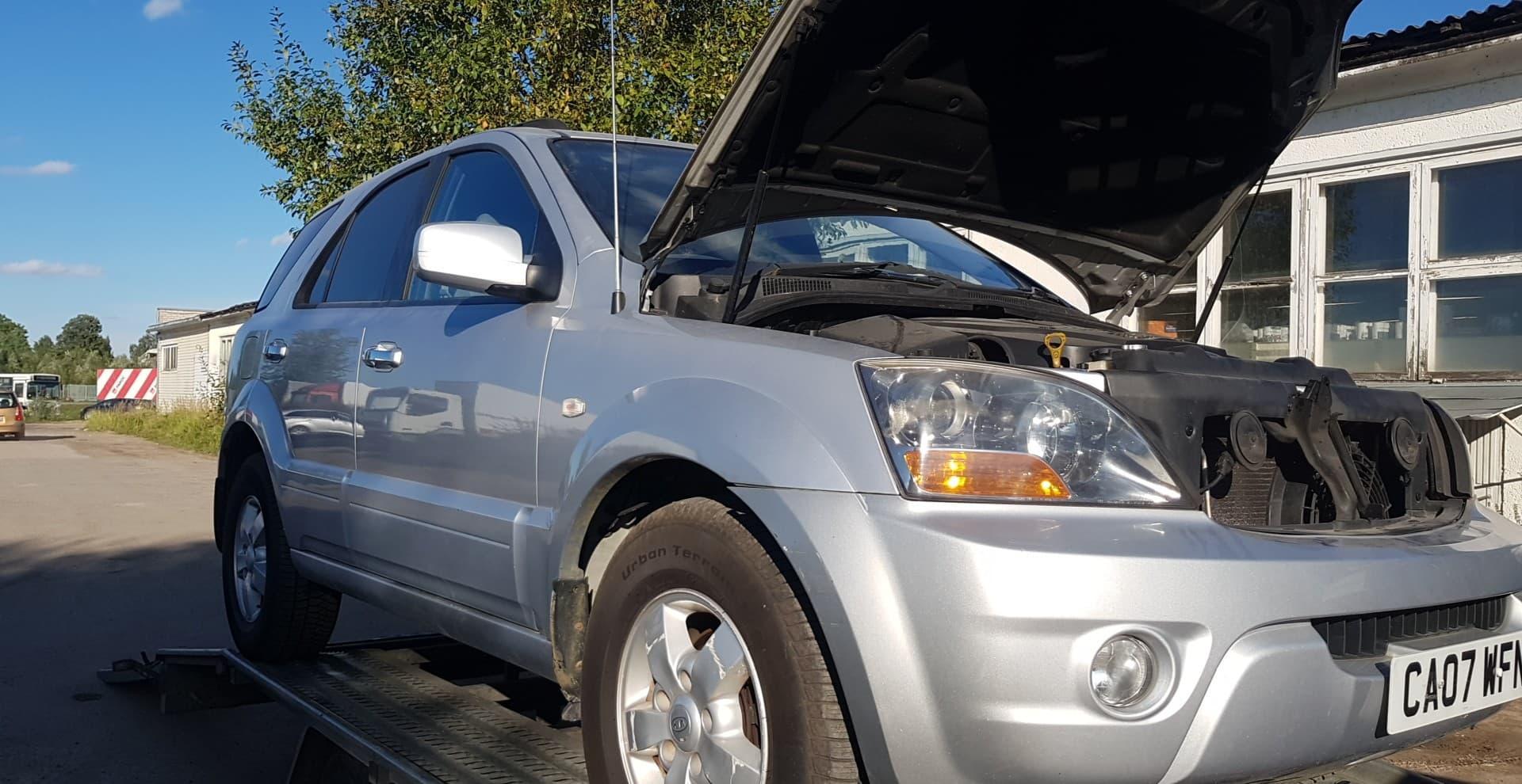 Naudotos automobilio dalys Kia SORENTO 2007 2.5 Mechaninė Visureigis 4/5 d. Sidabrine 2020-9-04