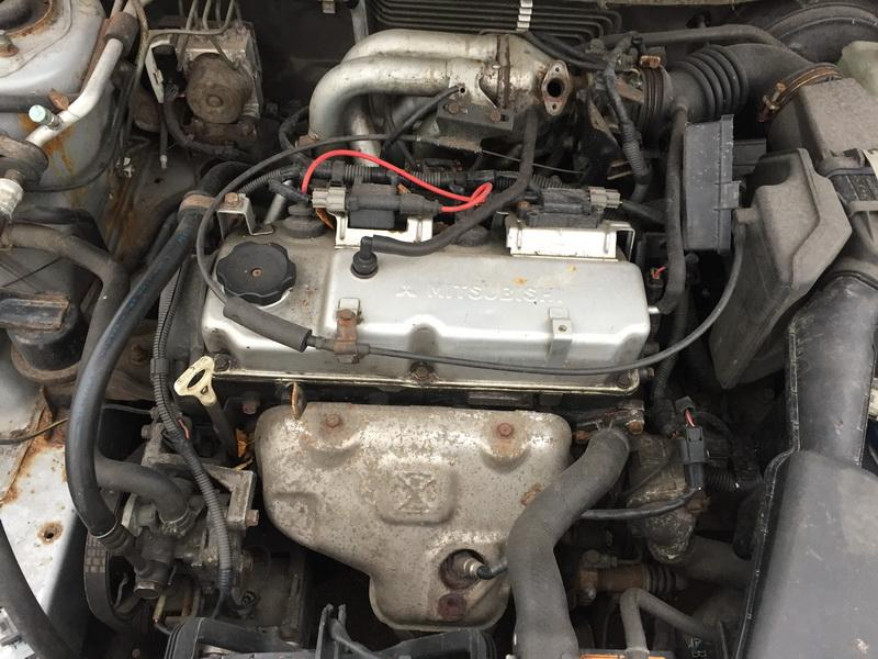 Naudotos automobiliu dallys Foto 2 Mitsubishi LANCER 2004 1.6 Mechaninė Universalas 4/5 d. Sidabrine 2018-11-12 A4184