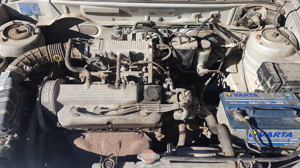 Naudotos automobiliu dallys Foto 8 Suzuki BALENO 1997 1.3 Mechaninė Sedanas 4/5 d. Pilka 2017-4-04 A3246