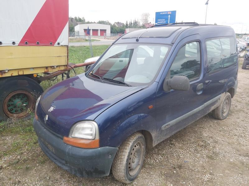 Naudotos automobiliu dallys Foto 4 Renault KANGOO 2001 1.9 Mechaninė Komercinis 4/5 d. Melyna 2020-9-14 A5662