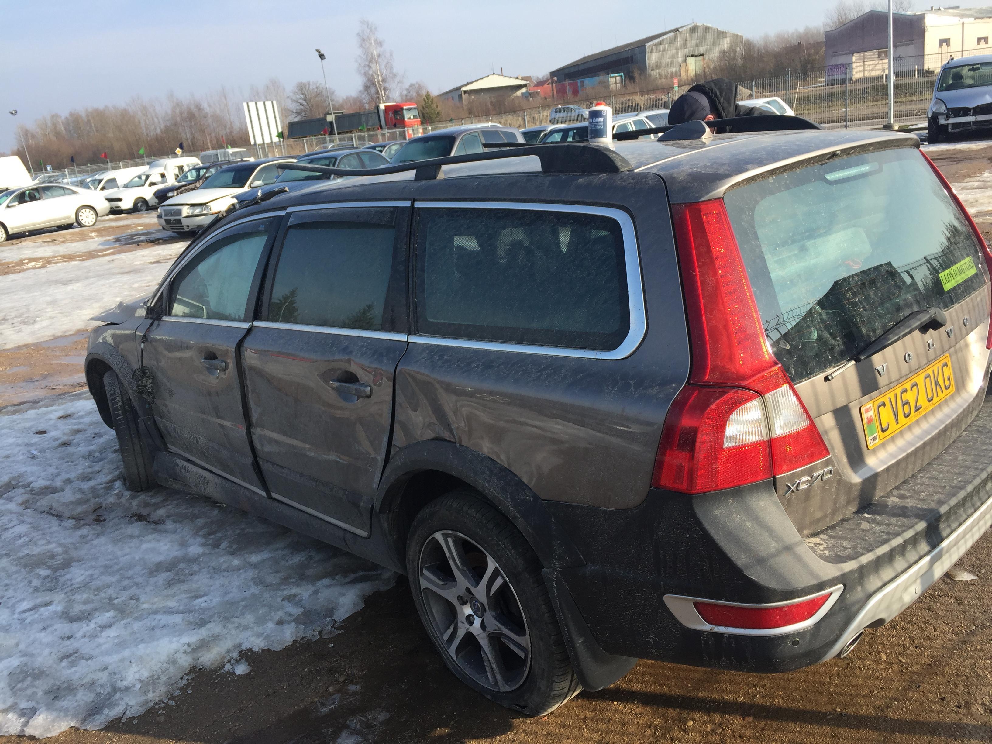 Naudotos automobilio dalys Volvo XC 70 2012 2.4 Automatinė Universalas 4/5 d. Pilka 2019-2-19