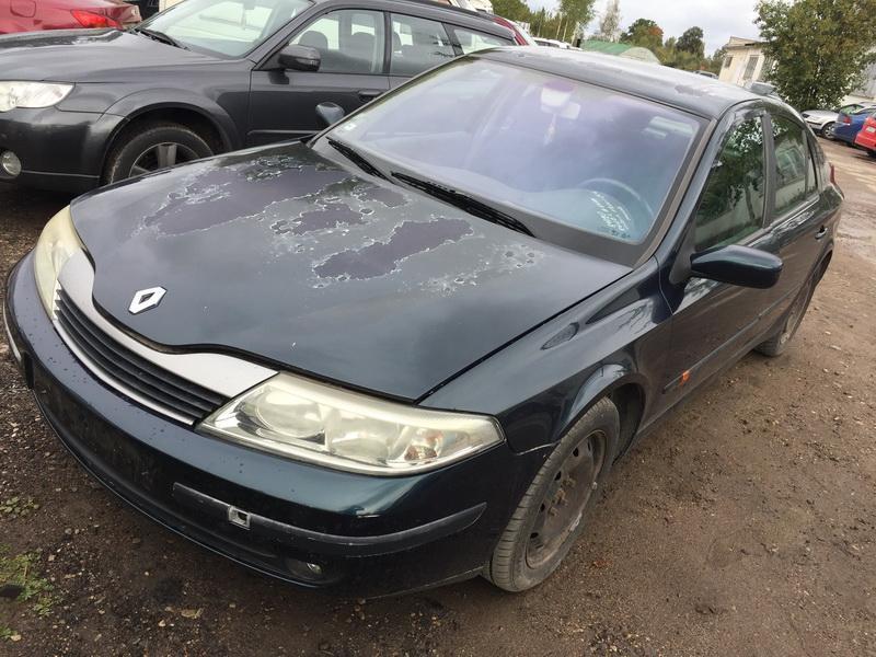 Naudotos automobilio dalys Renault LAGUNA 2001 1.9 Mechaninė Hečbekas 4/5 d. Zalia 2018-9-20