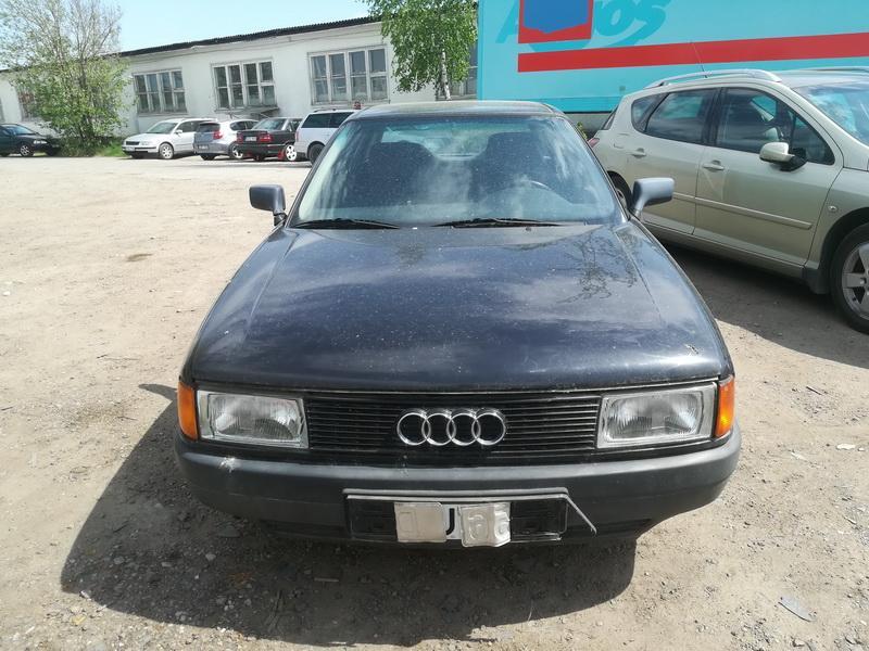 Naudotos automobilio dalys Audi 80 1989 1.8 Mechaninė Sedanas 4/5 d. Juoda 2019-5-20