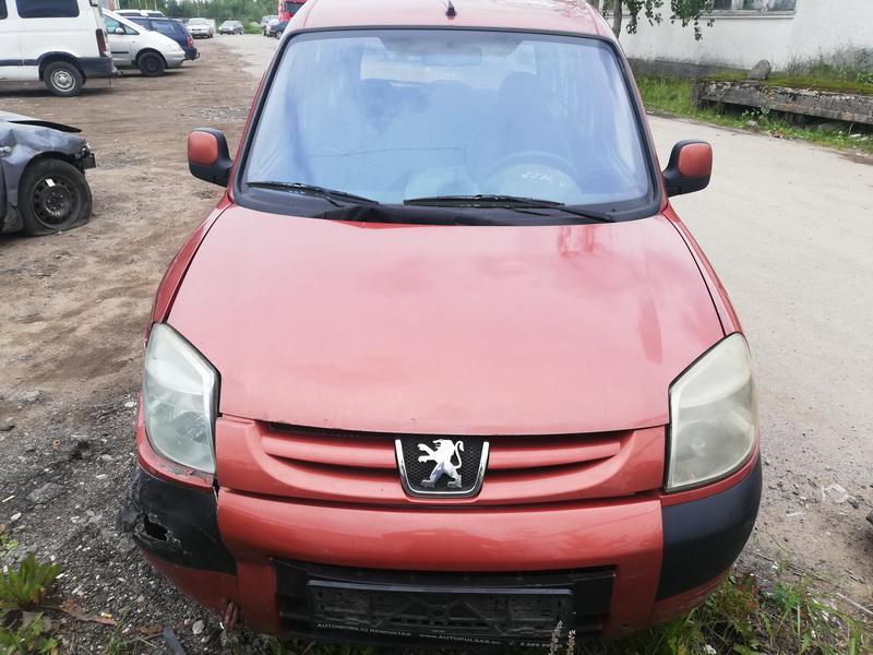Naudotos automobilio dalys Peugeot PARTNER 2005 2 Mechaninė Vienatūris 4/5 d. Ruda 2019-8-14