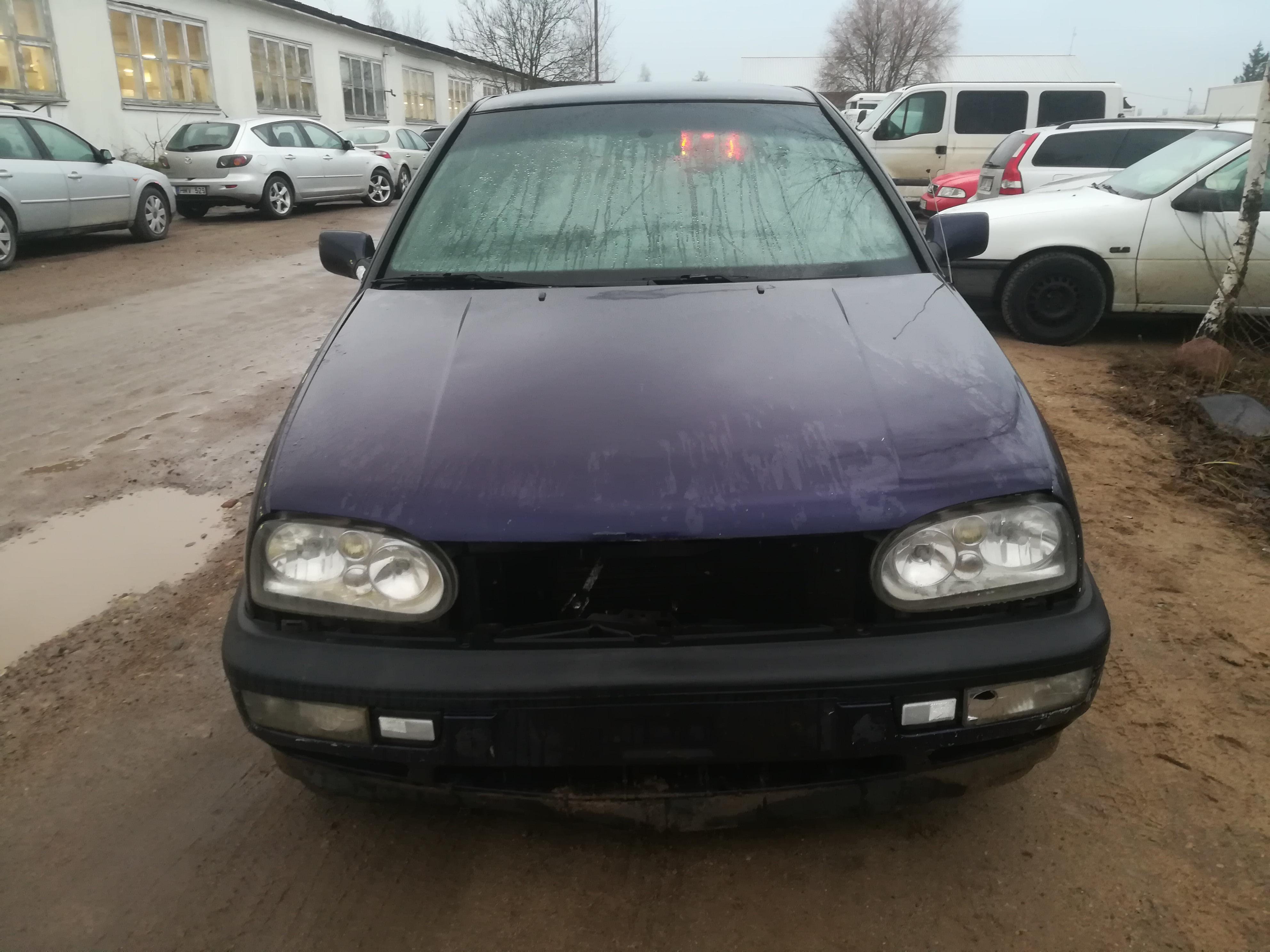 Used Car Parts Volkswagen GOLF 1995 1.9 Mechanical Hatchback 4/5 d. Blue 2019-12-05