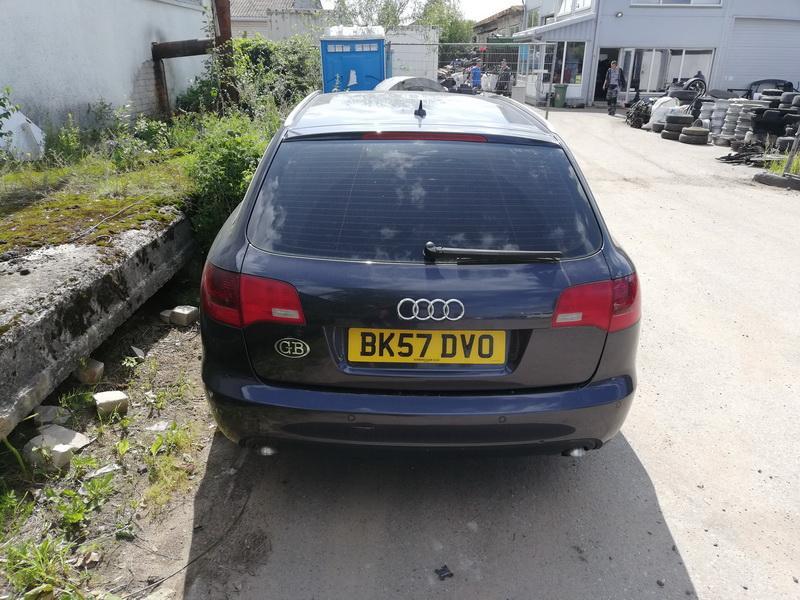Naudotos automobiliu dallys Foto 5 Audi A6 2007 2.0 Mechaninė Universalas 4/5 d. Pilka 2019-8-05 A4684