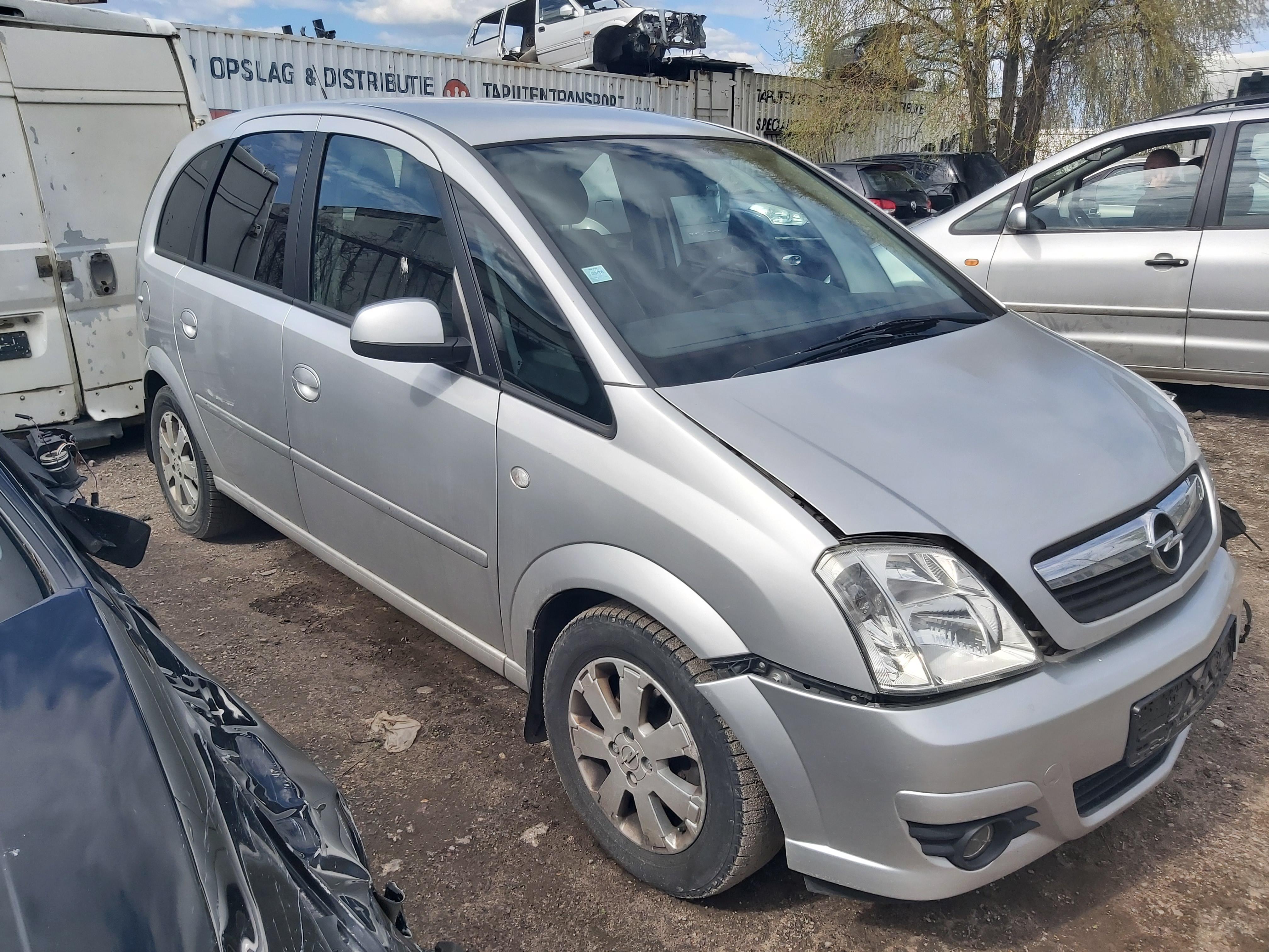 Naudotos automobilio dalys Opel MERIVA 2005 1.3 Mechaninė Hečbekas 4/5 d. Sidabrine 2020-5-06